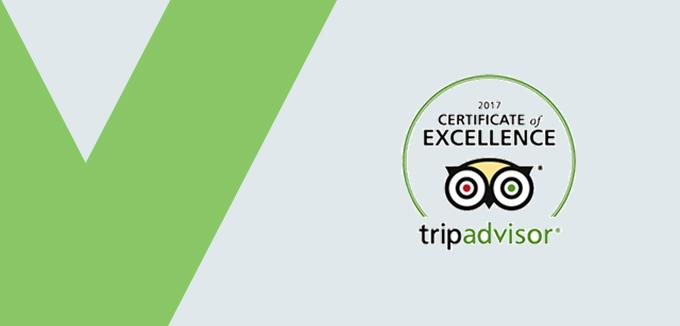 Tripadvisorcertificateof excellence2017