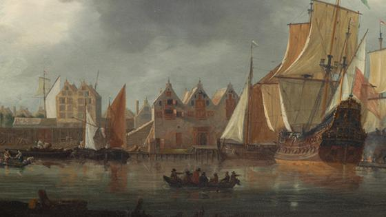 East India Company Shipyard in Amsterdam