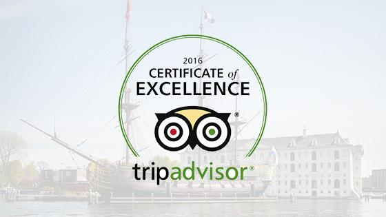The National Maritime Museum Tripadvisor Certificate