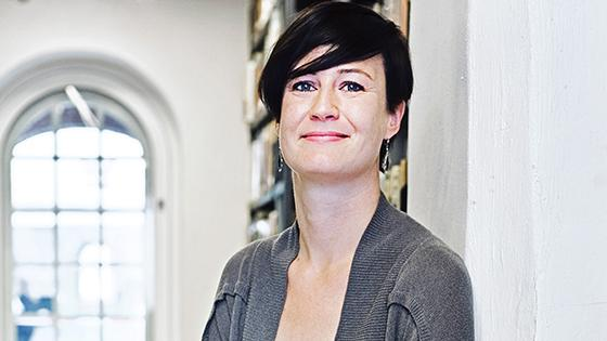 Sarah Bosmans, curator of arts and crafts